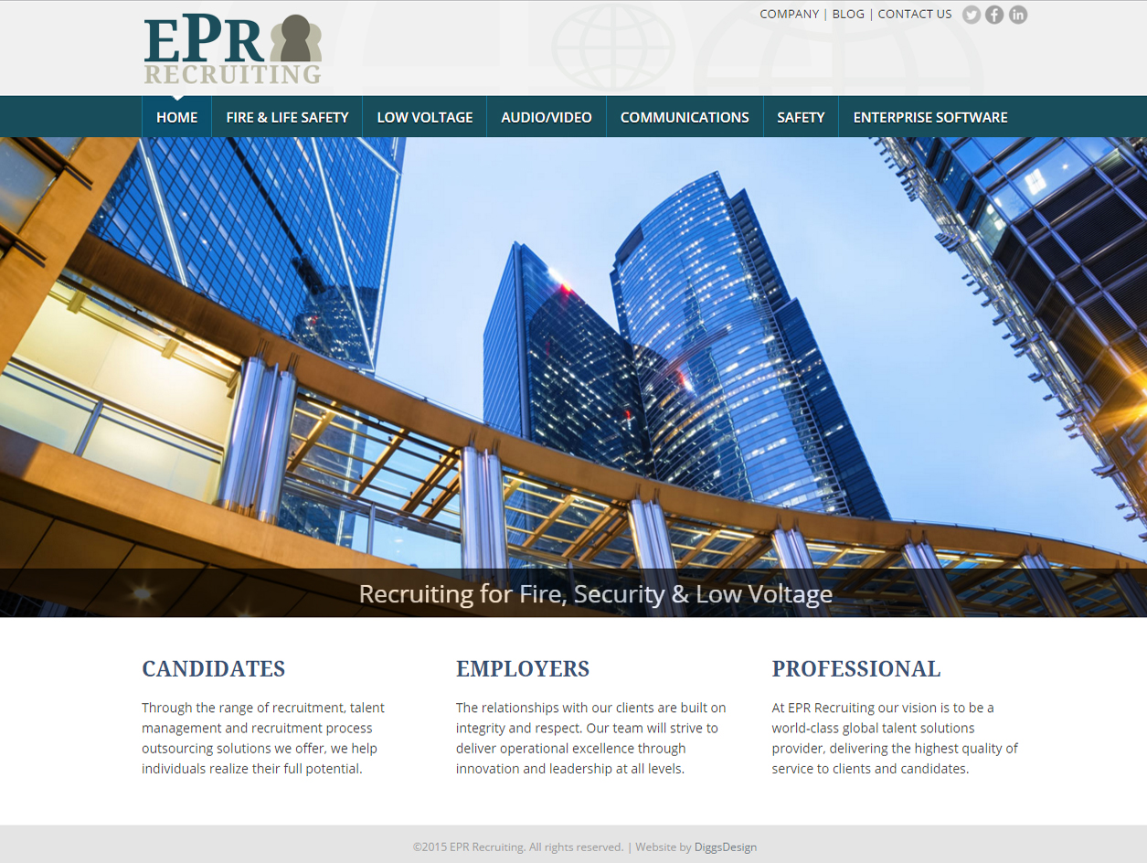 See EPR Recruiting Project